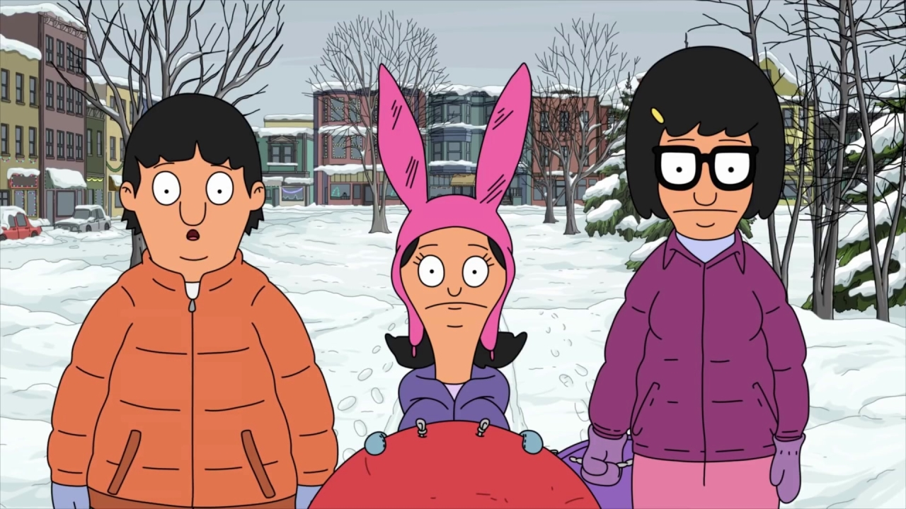 Bob's Burgers: The Kids Are Attacked By Snowballs