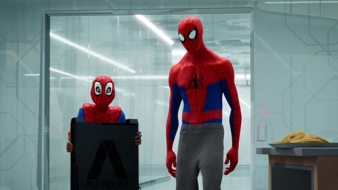 Spider-Man: Into The Spider-Verse: Wait (Spot)