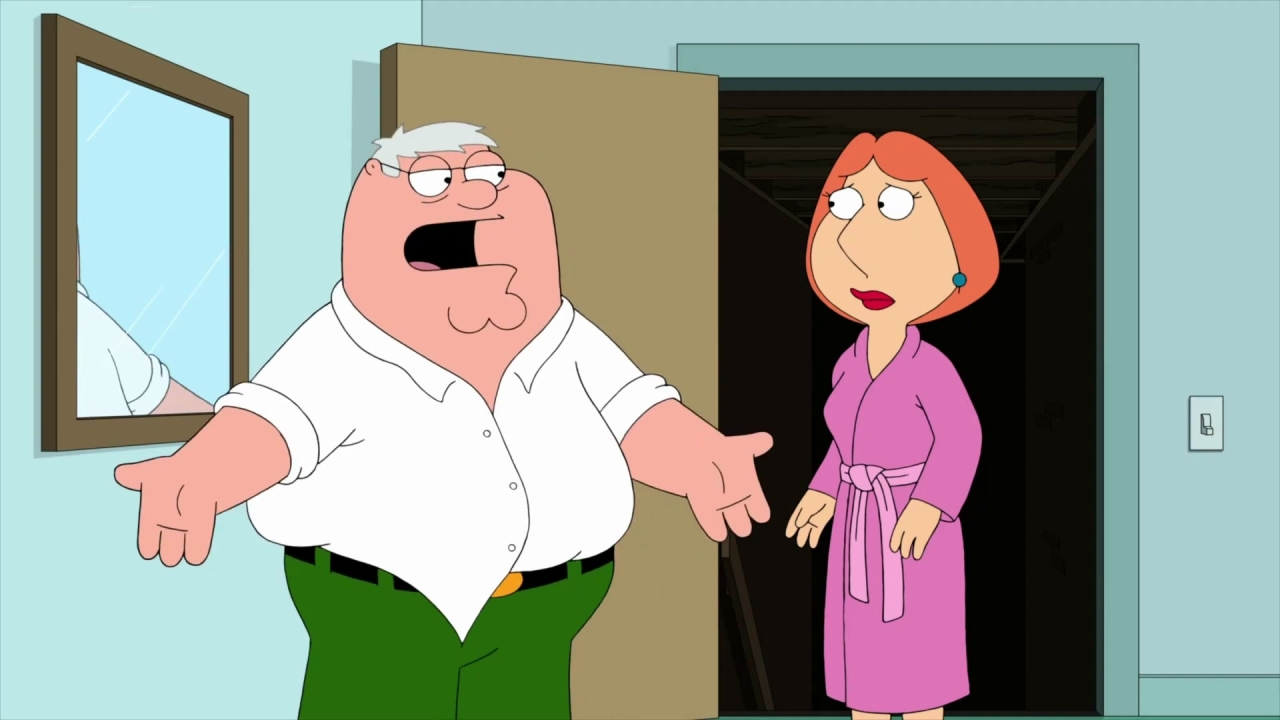 Family Guy: Hefty Shades Of Gray
