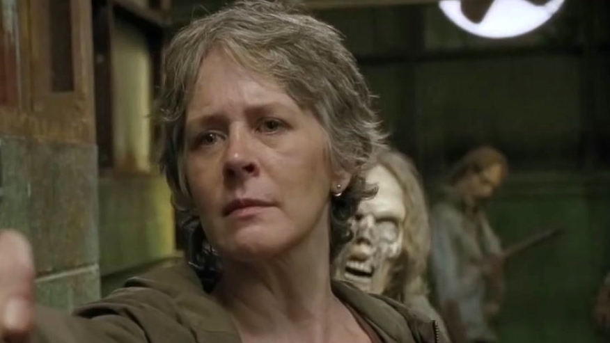 The Walking Dead: Carol And Maggie Face-Off