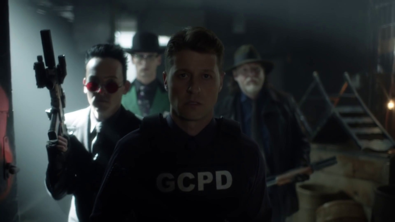 Gotham: Gordon Leads A Squad For Gotham