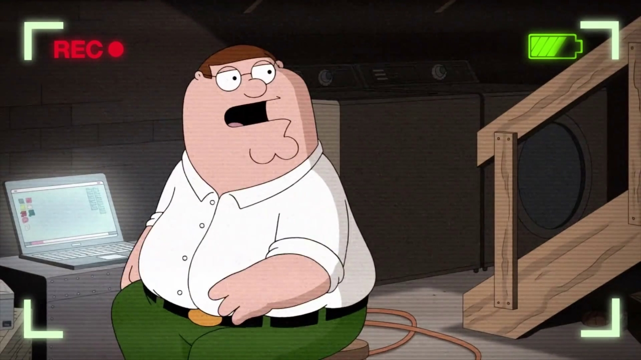 Family Guy: The Guys Set Up A Ghost Hunt