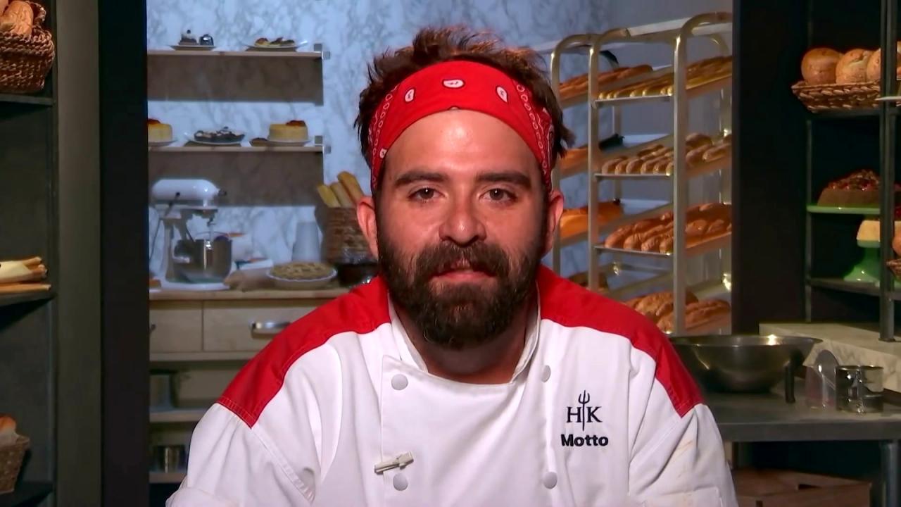 Hell's Kitchen: Trev Breaks The Ice Cream Turner