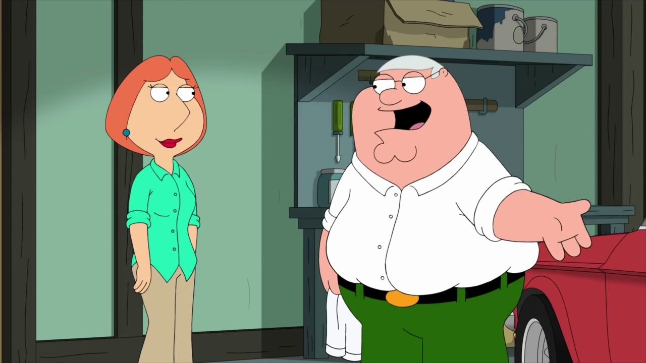 Family Guy: Peter Is In A Pharmaceutical Commercial