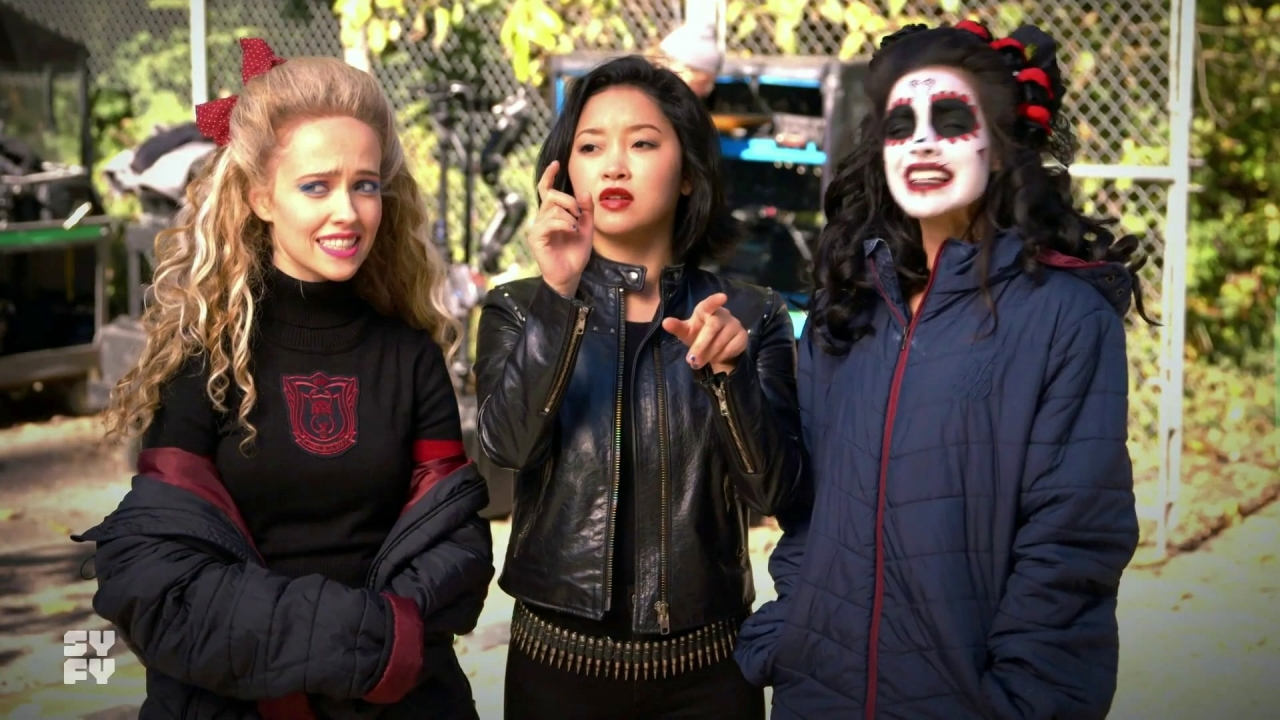 Deadly Class: On Set Student vs. Ninja