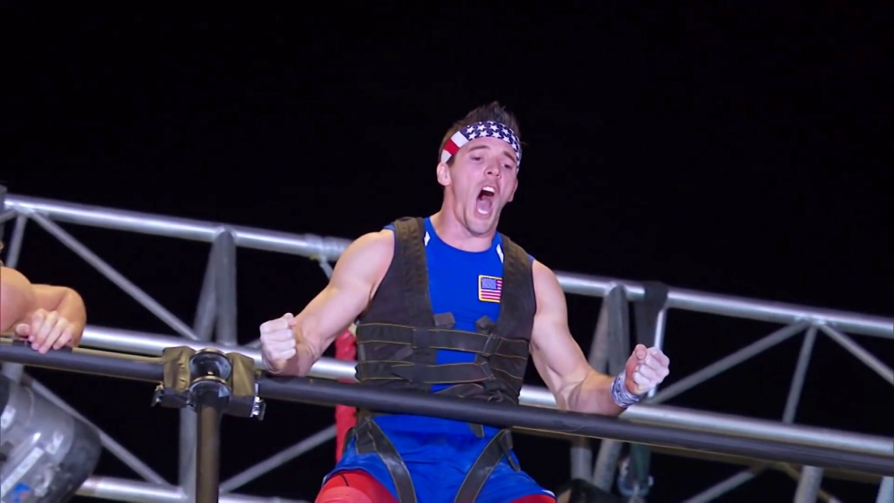 American Ninja Warrior: Drew Drechsel's Rope Climb