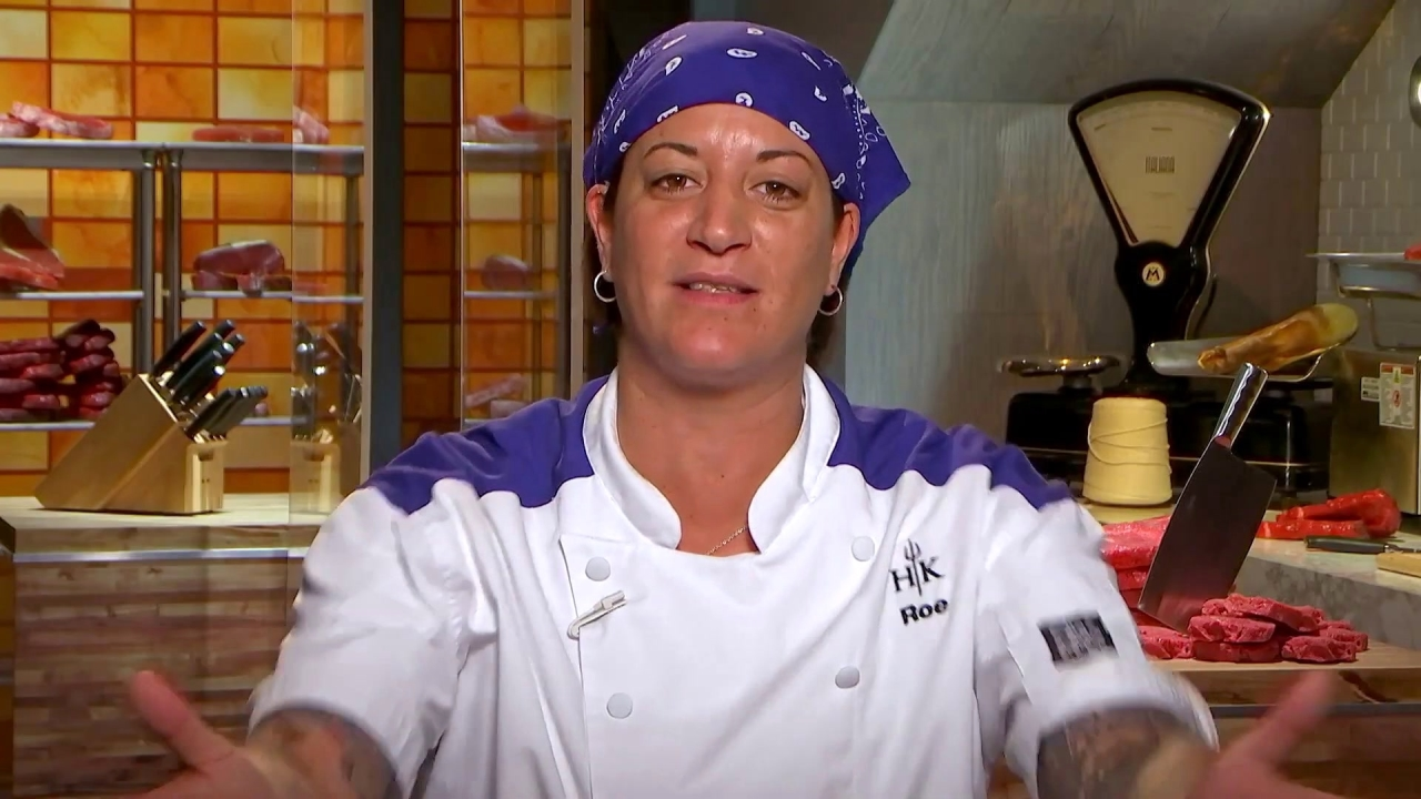 Hell's Kitchen: Roe Under Cooks The Pork