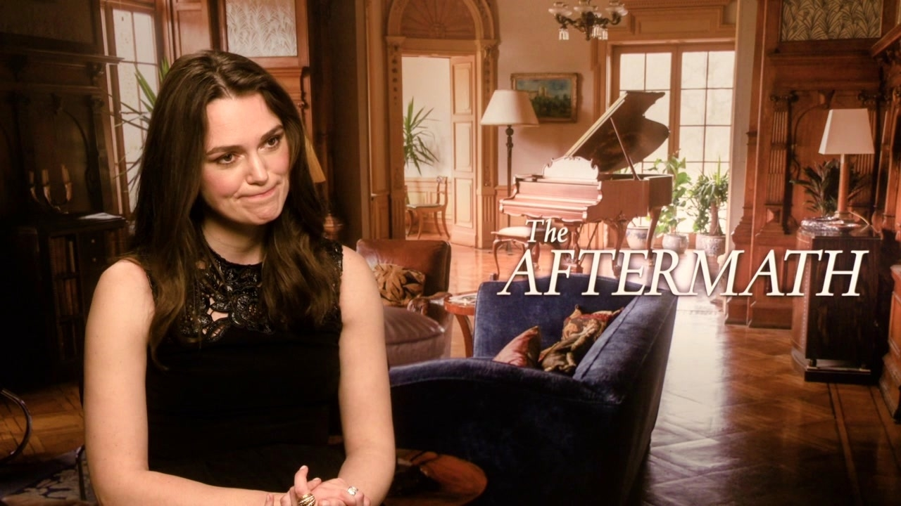 The Aftermath: Keira Knightley On Her Character 'Rachael Morgan'