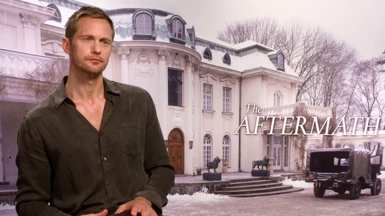 The Aftermath: Alexander Skarsgard On His Character 'Stefan Lubert'