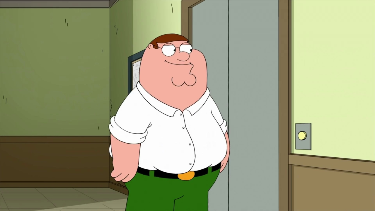 Family Guy: Peter Struggles To Climb The Stairs