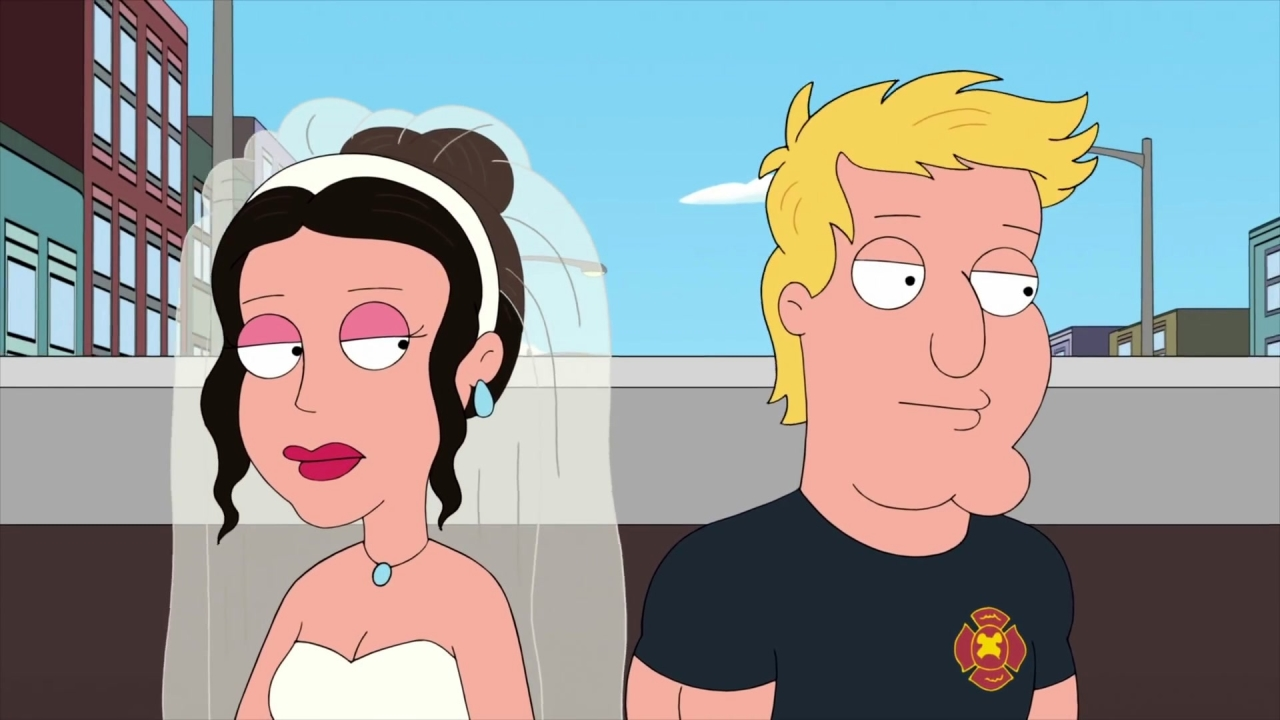 Family Guy: The Guys Crash A Fireman's Bachelor Party