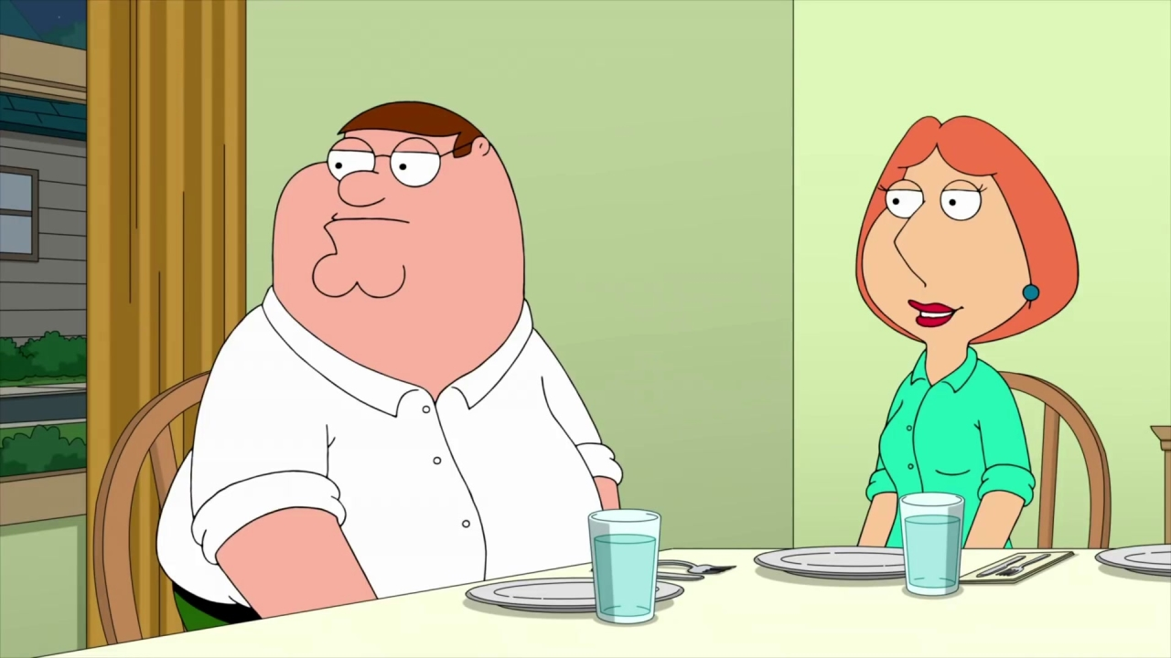 Family Guy: Peter Really Doesn't Want To Go Camping With Quagmire