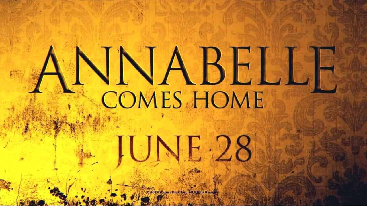 Annabelle Comes Home (Teaser Trailer)