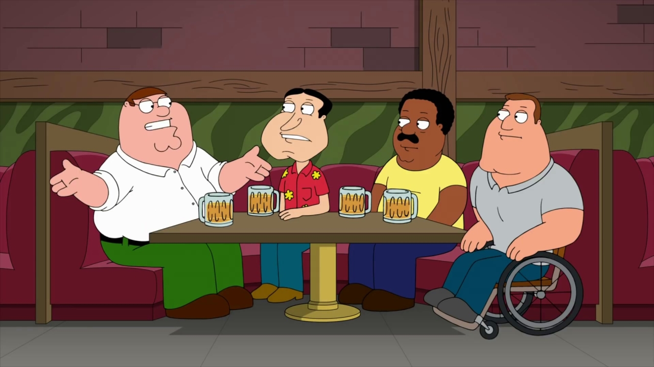 Family Guy: You Can't Handle The Booth