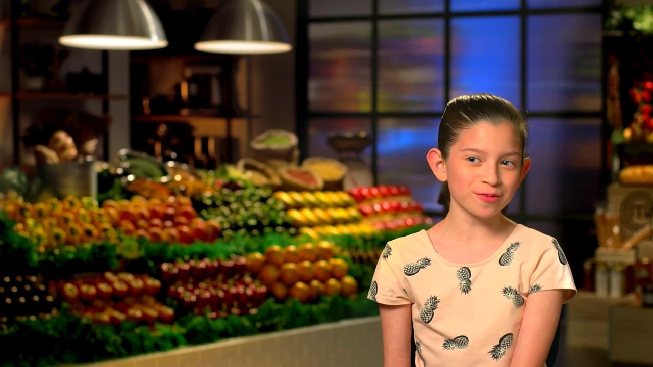Masterchef Junior: Nayeli Loves Mexican Food & Baking