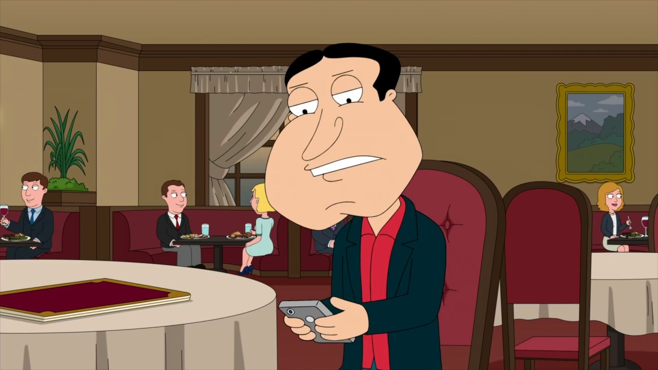 Family Guy: Lois Helps Quagmire Get Through His Date