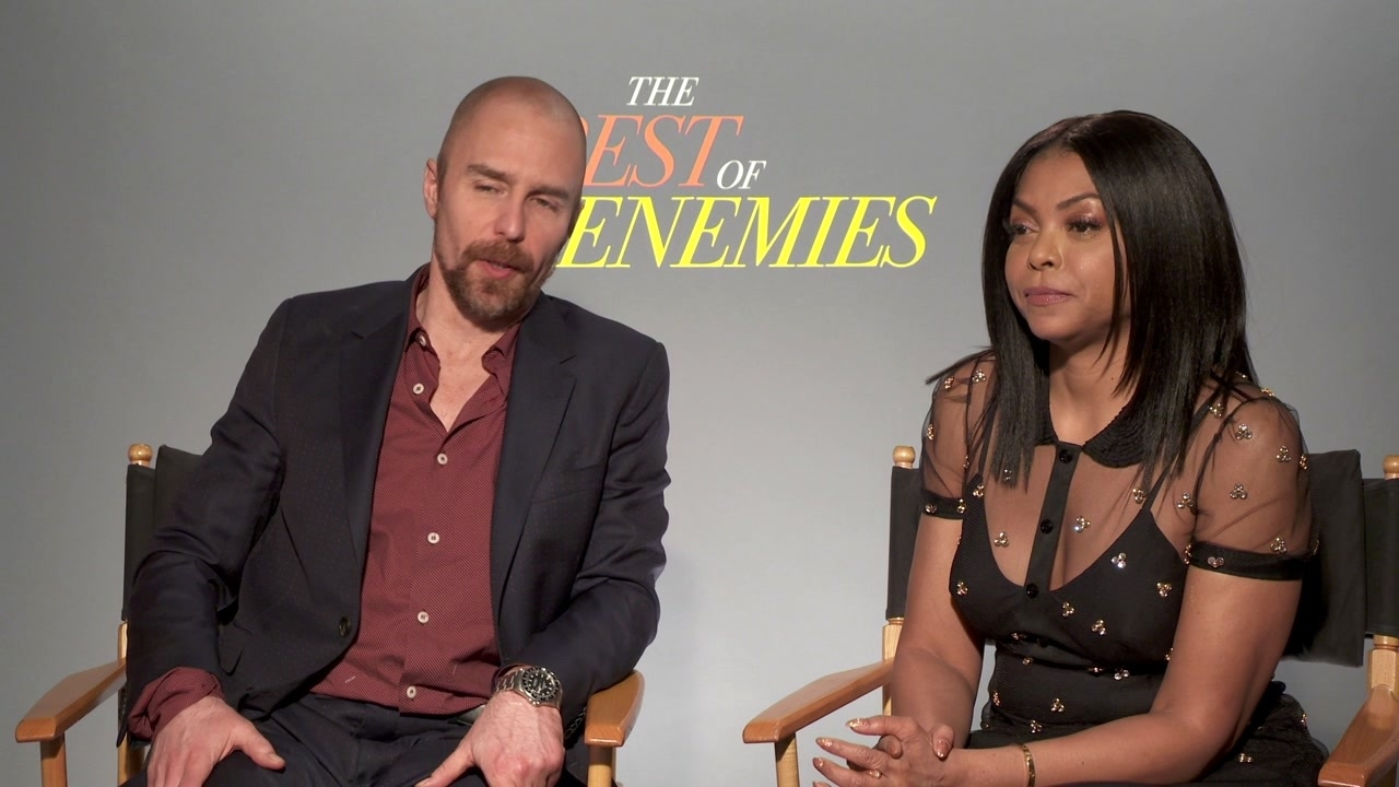 The Best Of Enemies: Sam Rockwell & Taraji P. Henson On If They Knew Each Other Before The Film