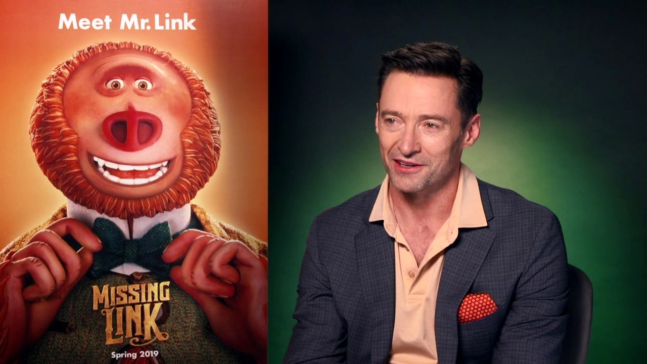 Missing Link: Hugh Jackman On 'Sir Lionel Frost'
