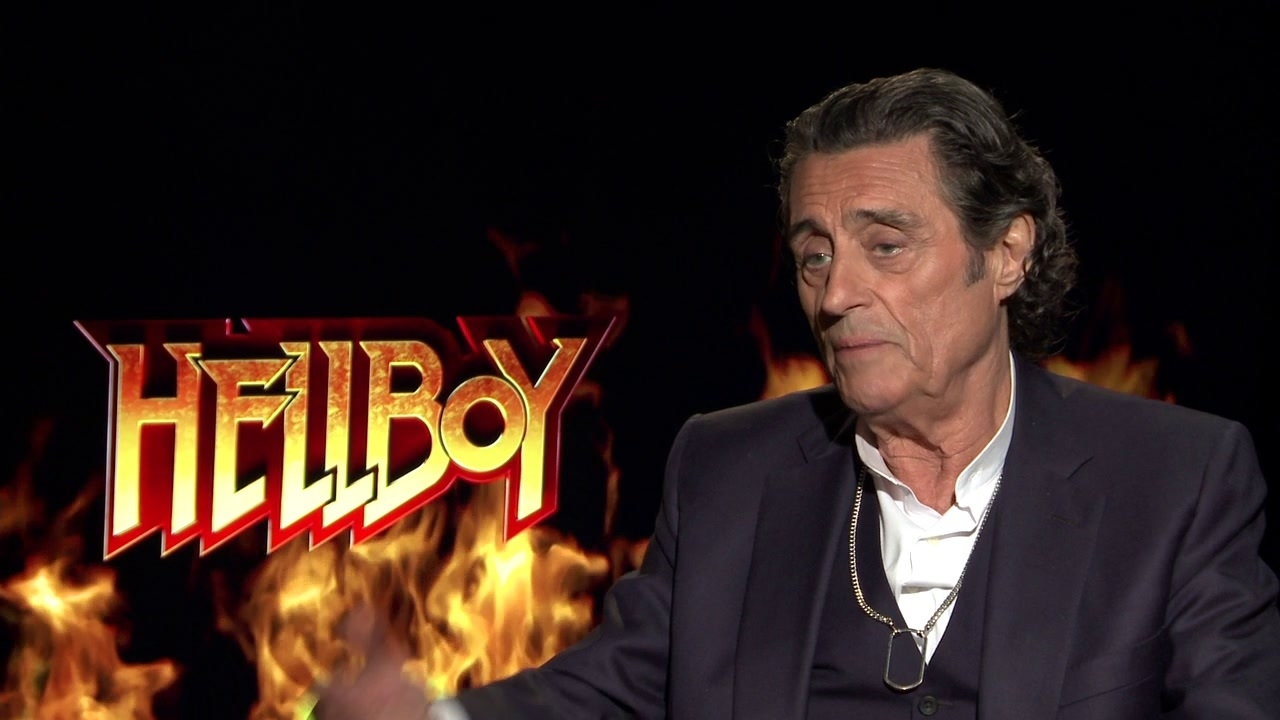 Hellboy: Ian McShane On The Film's Theatrical Experience