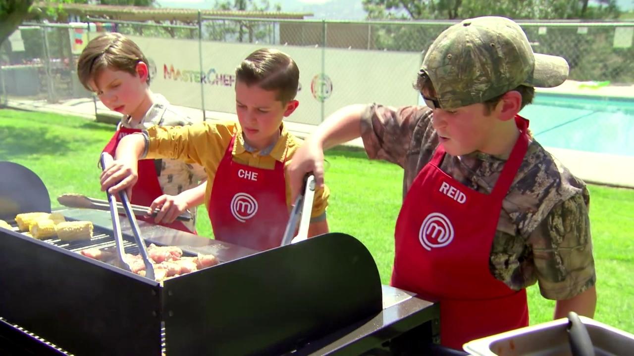 Masterchef Junior: The Red Team Serves Uncooked Chicken