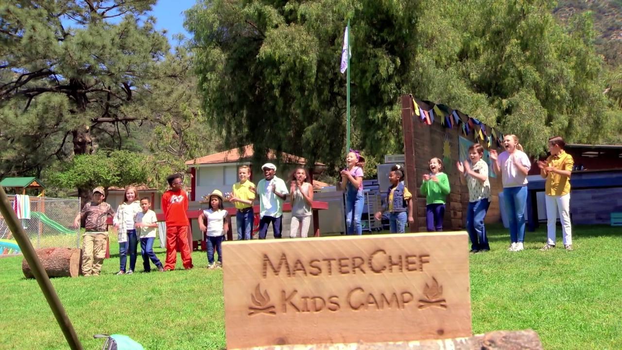 Masterchef Junior: The Kids Arrive At The MasterChef Kids Camp