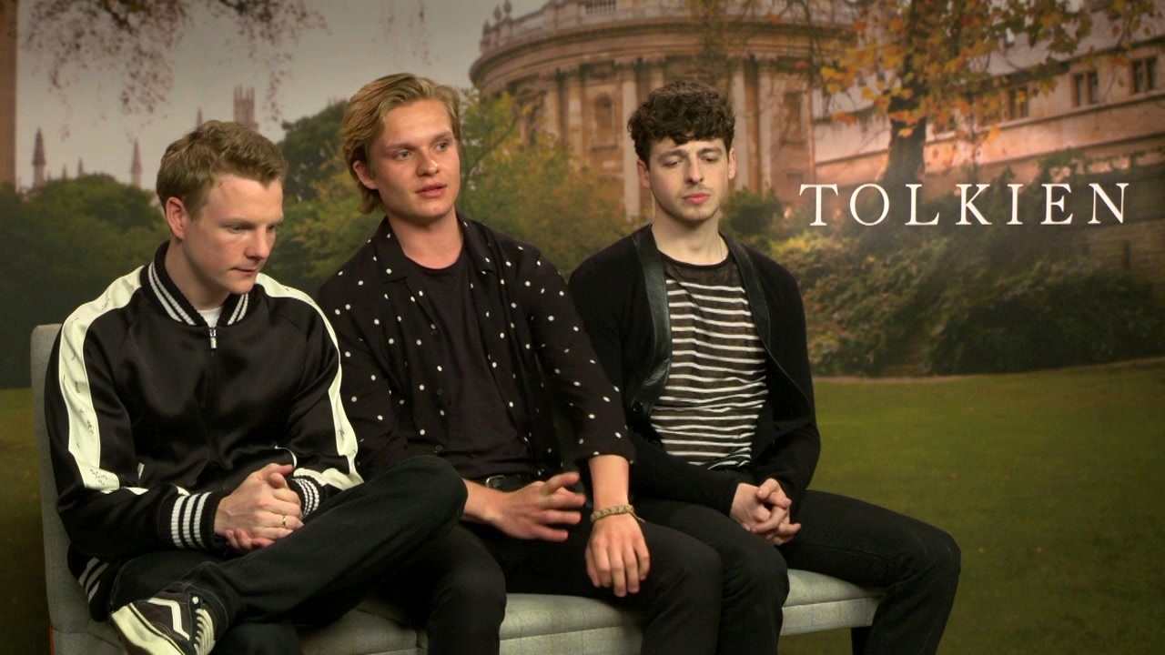 Tolkien: Tom Glynn-Carney On His Reaction When He First Read The Script