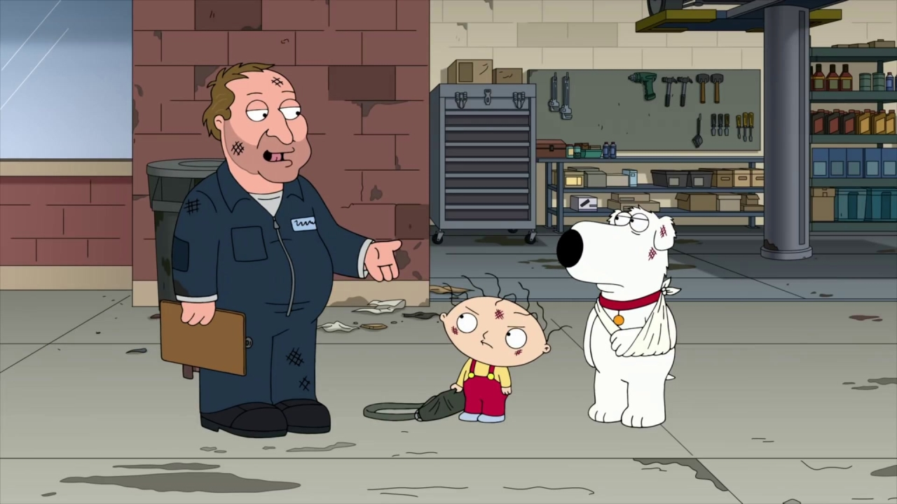 Family Guy: Stewie & Brian Find Out The Car Is Totaled