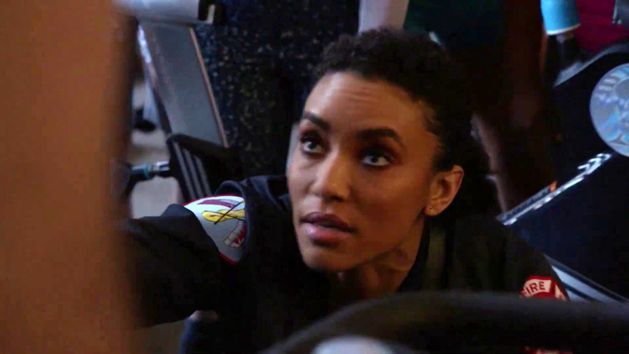 Chicago Fire: A Woman Gets Her Hair Stuck In An Exercise Bike