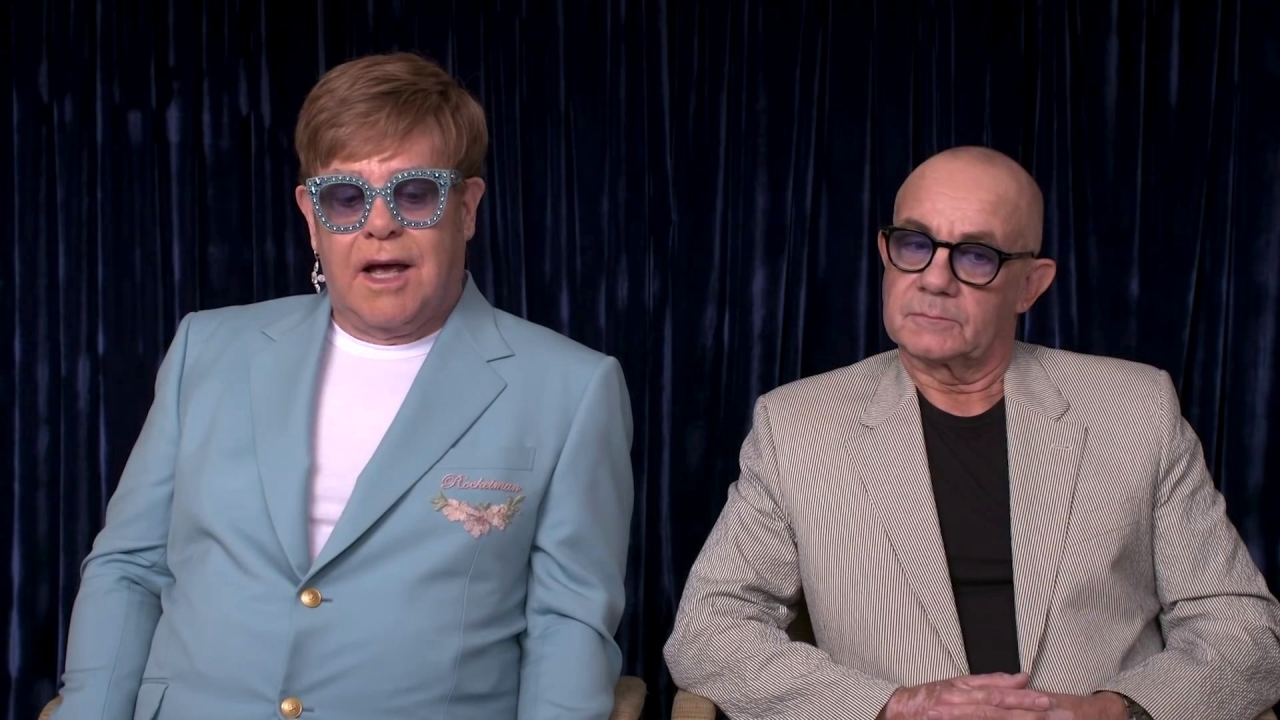 Rocketman: Elton John & Bernie Taupin Talk Rocketman