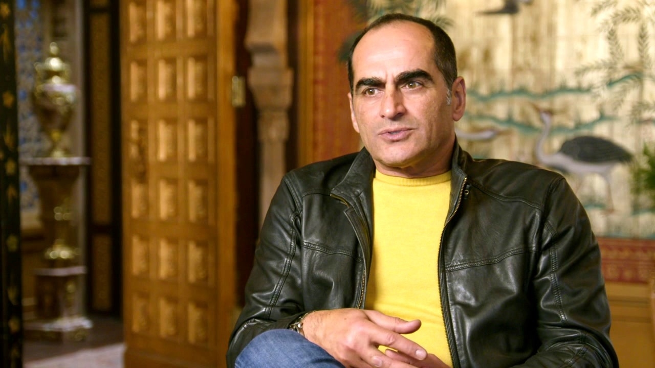 Aladdin: Navid Negahban On The 'Sultan' Worrying About 'Jasmine'