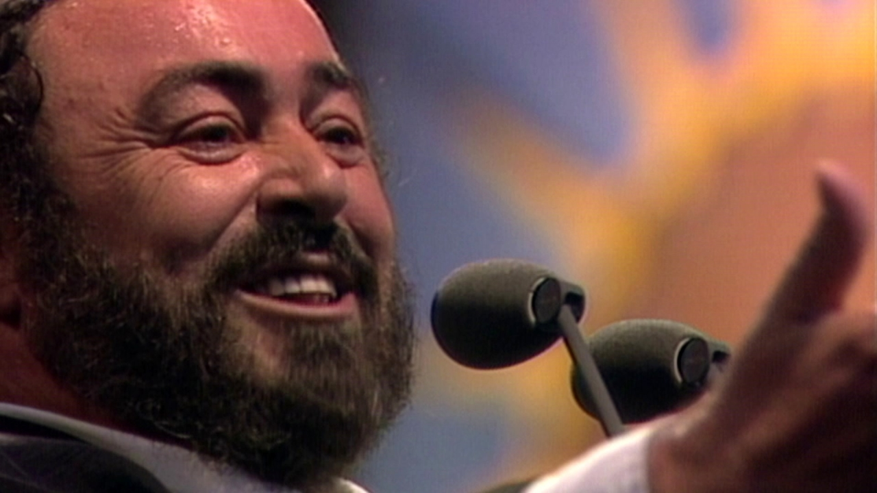 Pavarotti: Umbrellas Down For Princess Diana