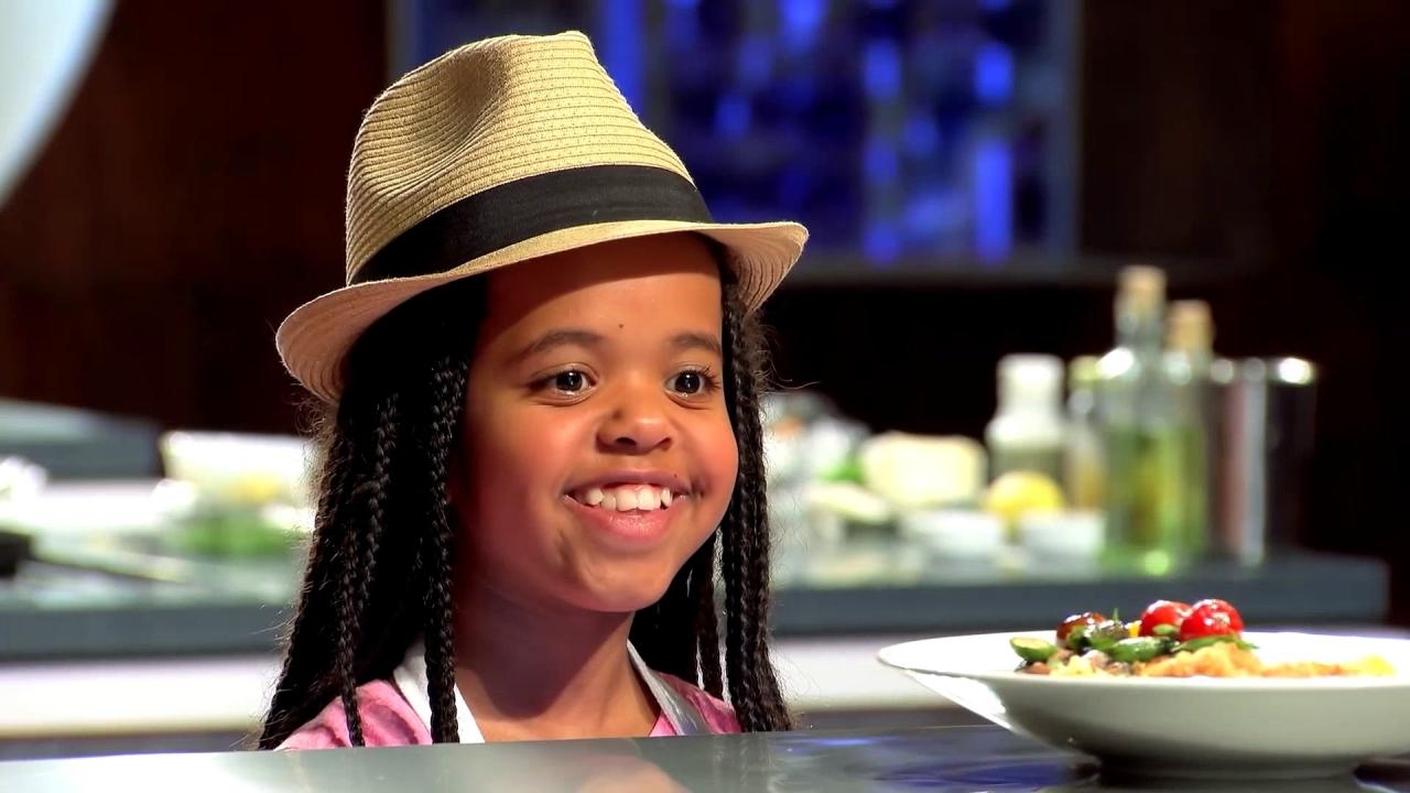 Masterchef Junior: Ivy Presents Her Veal Schnitzel Dish