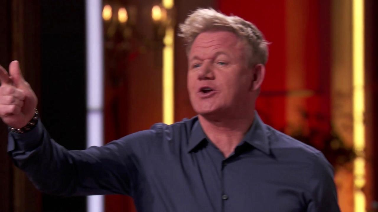 Masterchef: The Judges Want A Gordon Inspired Dish