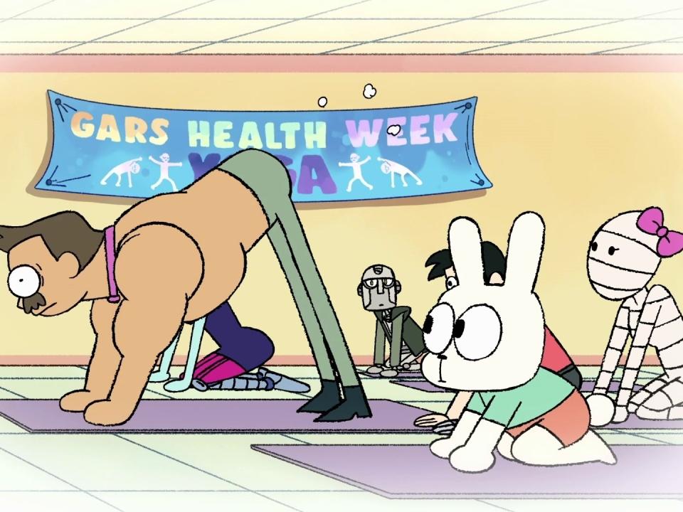 OK K.O.! LET'S BE HEROES: KO's Health Week