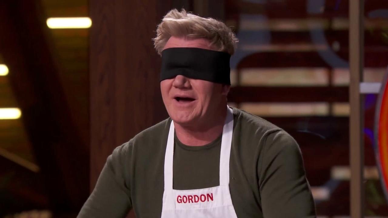 Masterchef: Gordon Shows Off His Chicken Cutting Skills