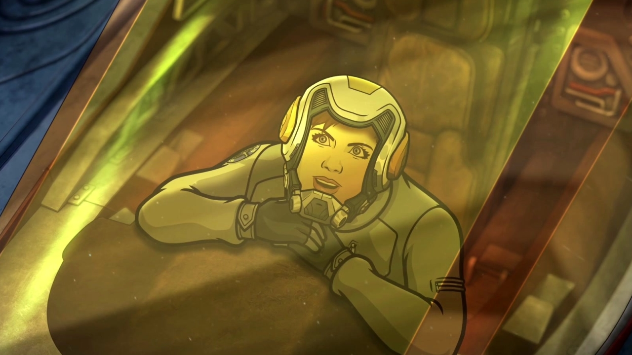 Archer: 1999: Swallowed By A Space Snail