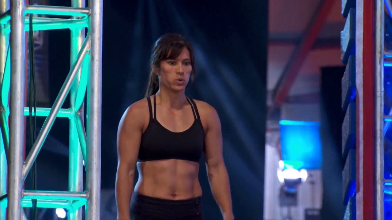 American Ninja Warrior: First Mom To Hit A Buzzer
