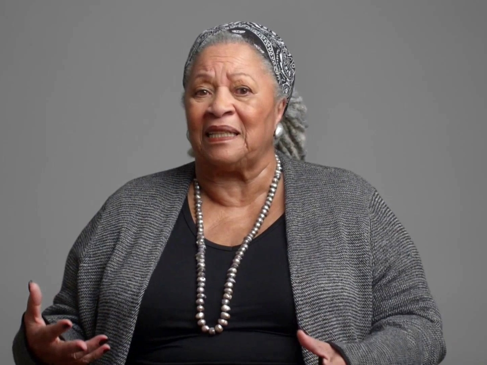 Toni Morrison: The Pieces I Am: My World Is A Black World
