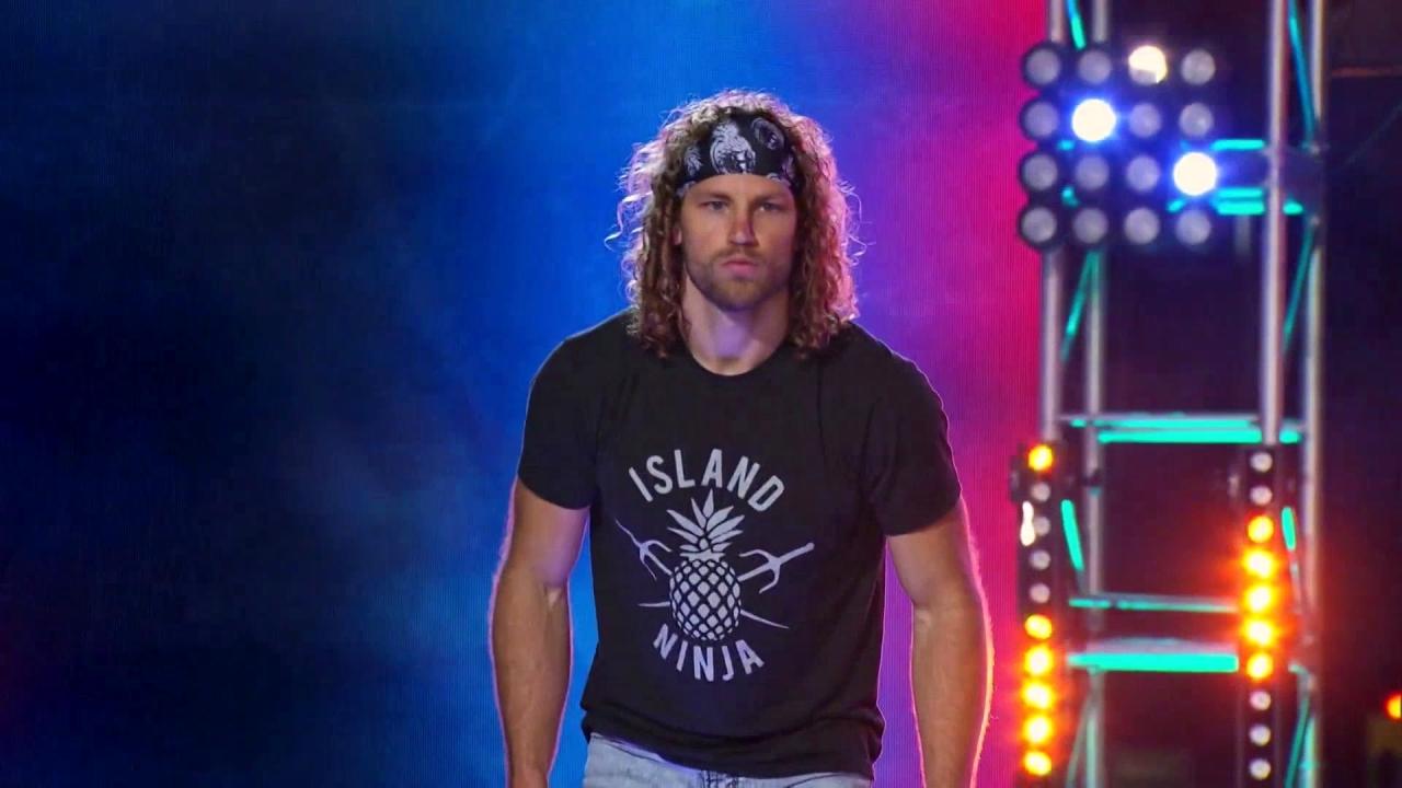 American Ninja Warrior: Grant Mccartney Takes On The Mega Wall