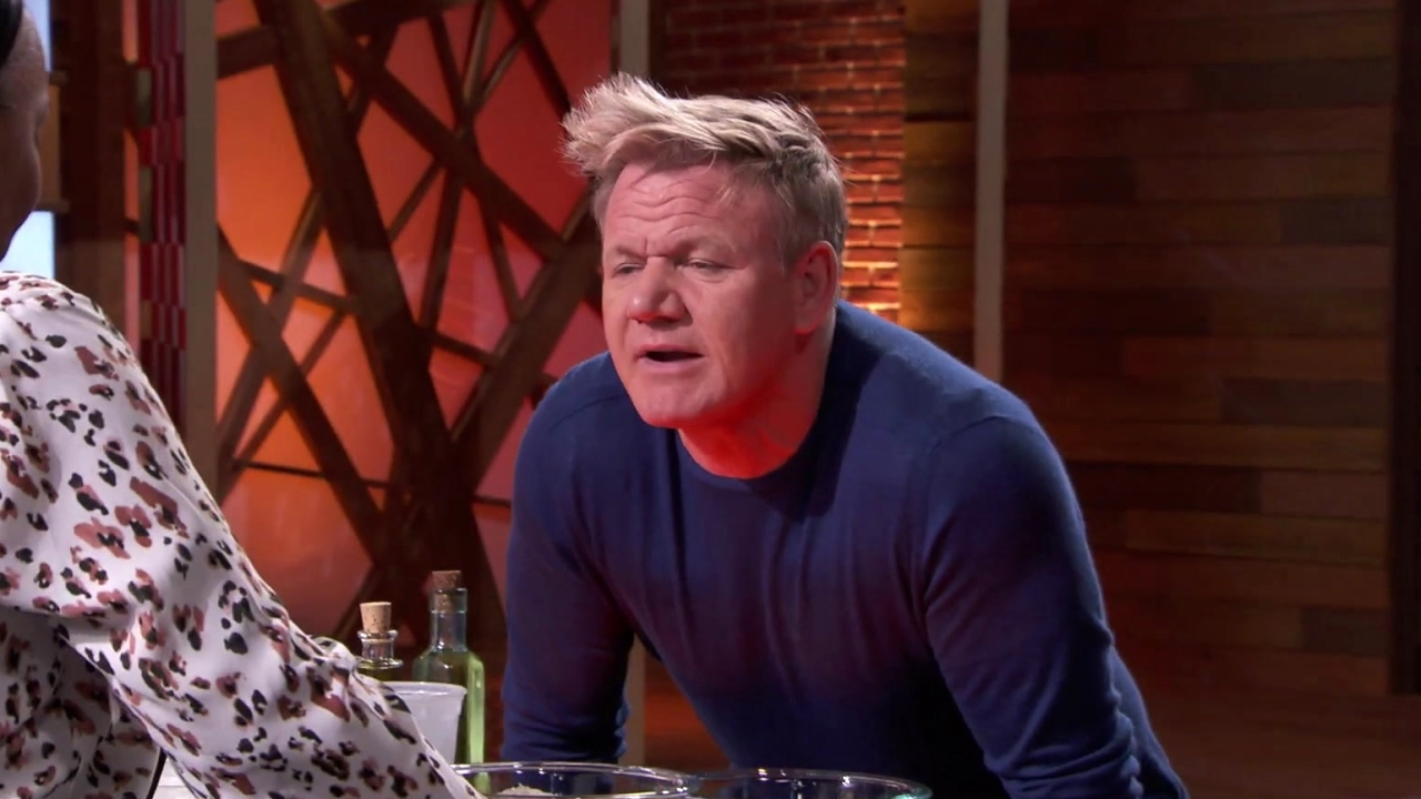 Masterchef: Dorian Can Barely Keep It Together