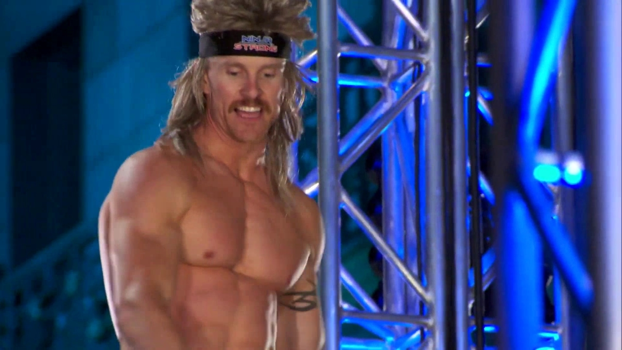American Ninja Warrior: Chad Flexington: Not Just A Wig And A Fanny Pack