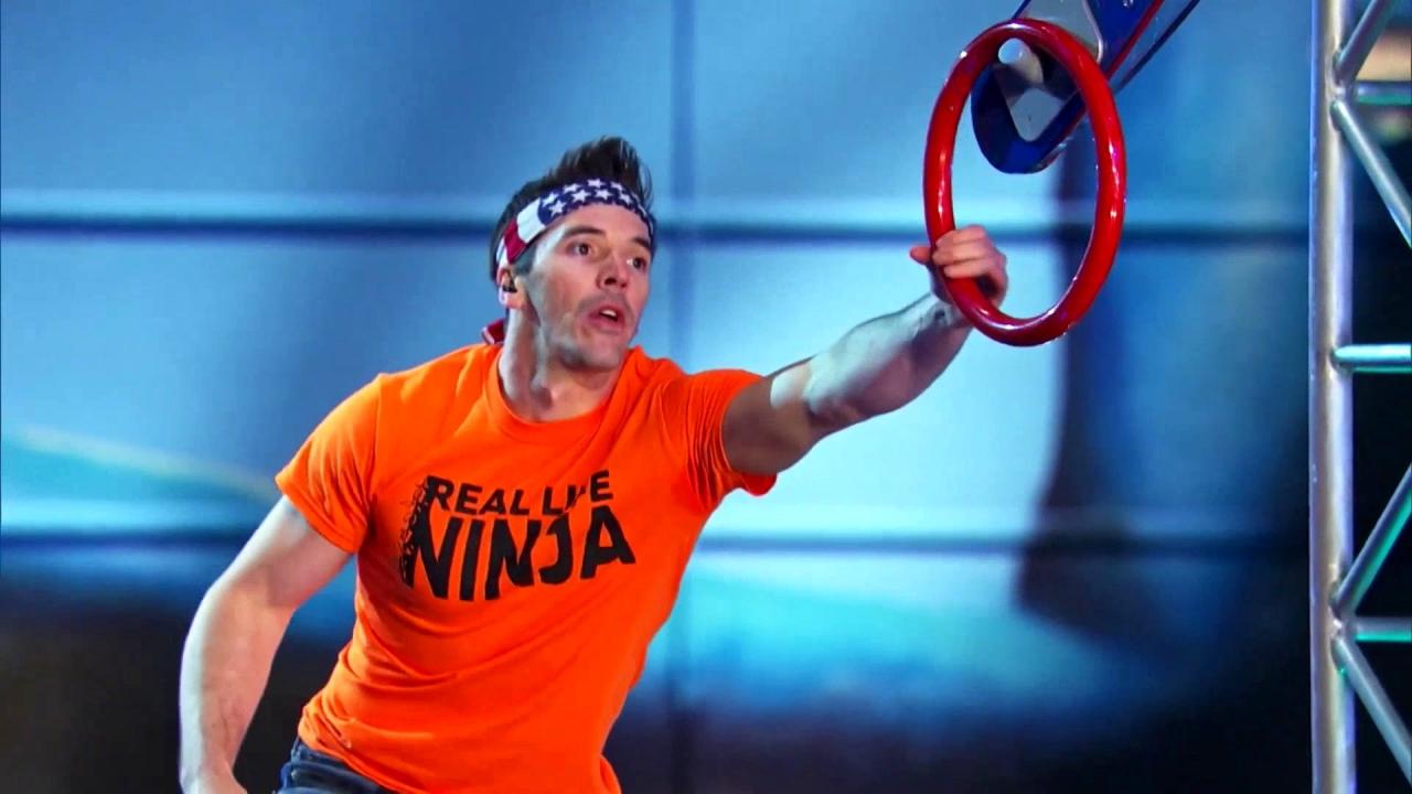 American Ninja Warrior: Drew Drechsel Gets The Fastest Time
