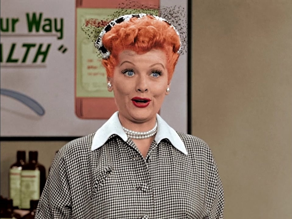 I Love Lucy: A Colorized Version: Lucy Does A TV Commercial