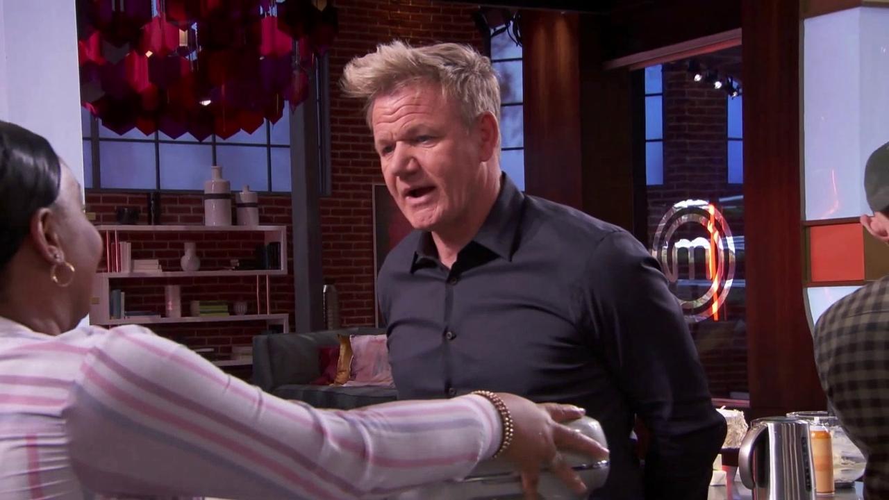 Masterchef: Dorian Makes A Pink Champagne Cake