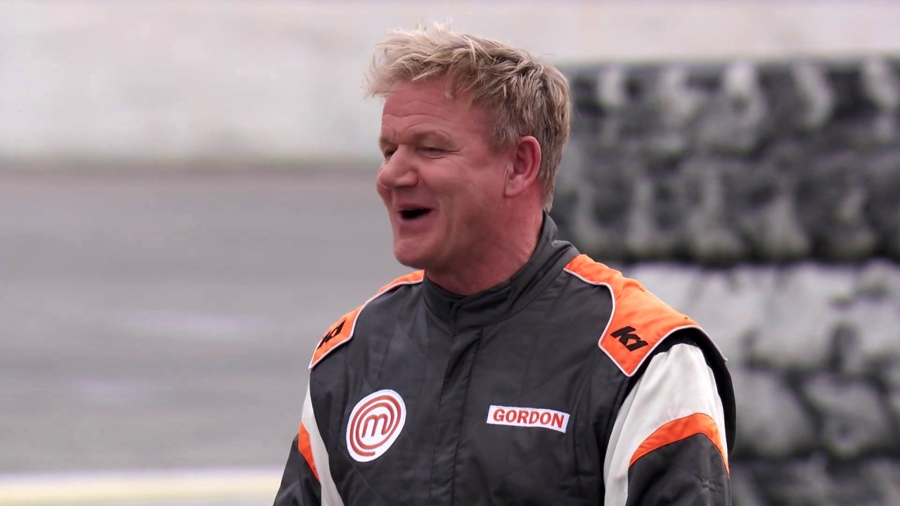 Masterchef: The Judges Arrive At The Speedway