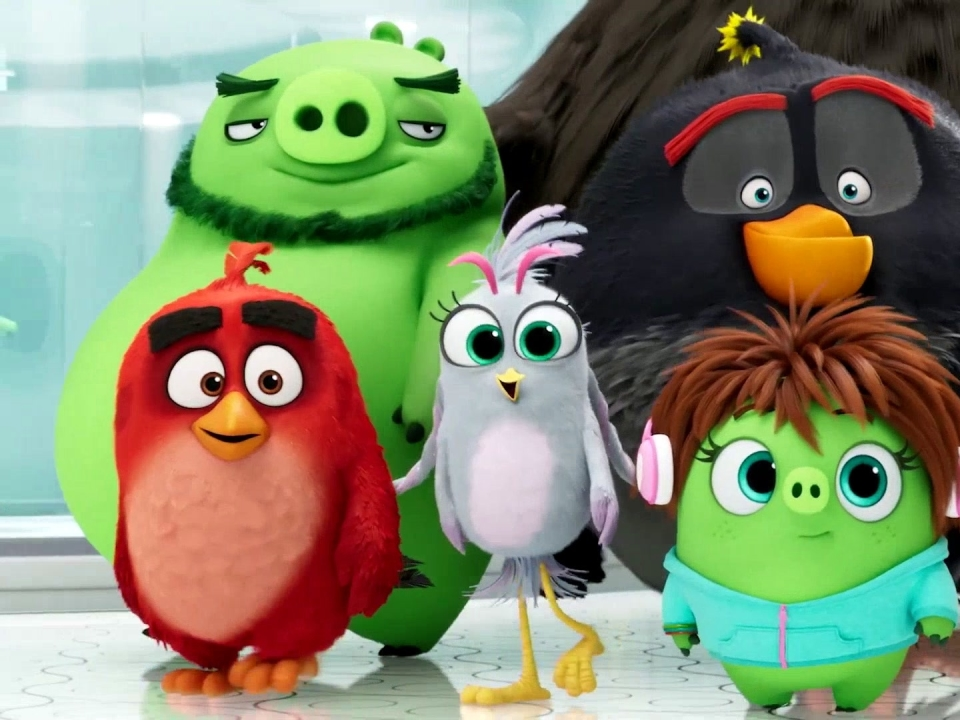 The Angry Birds Movie 2: Let's Just Be Friends (Lyric Video)