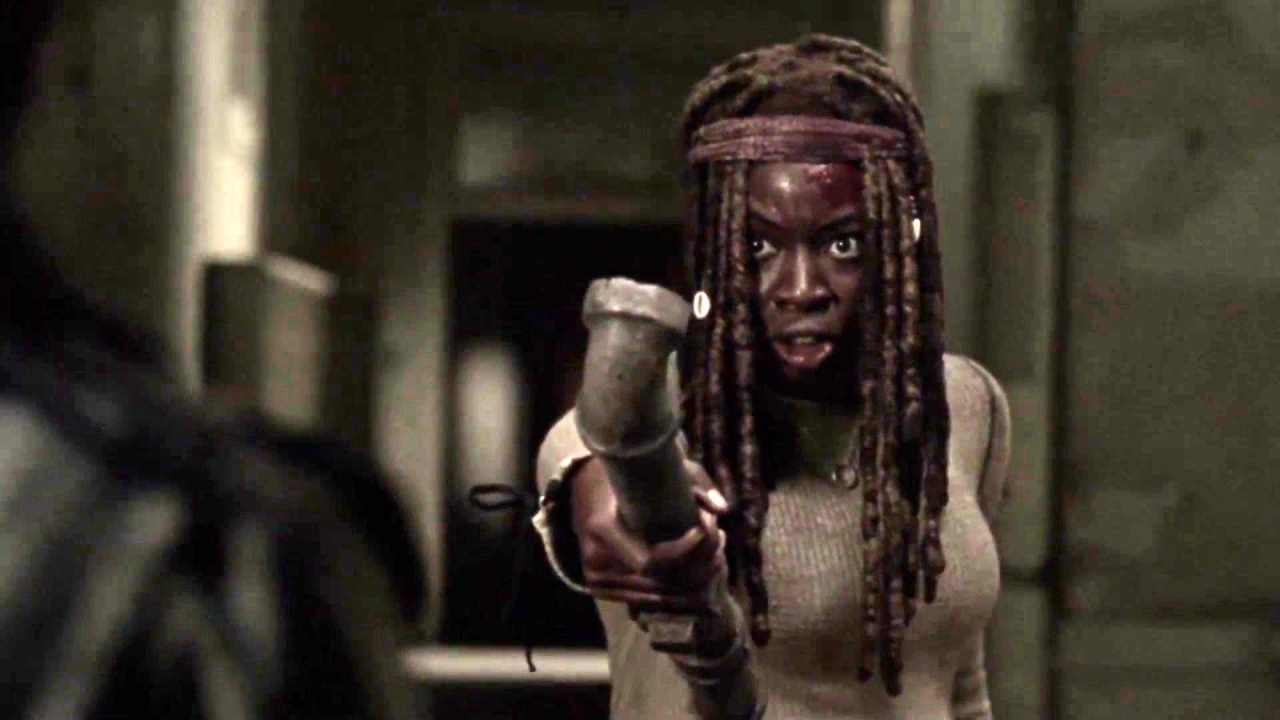The Walking Dead: Michonne Kills Jocelyn