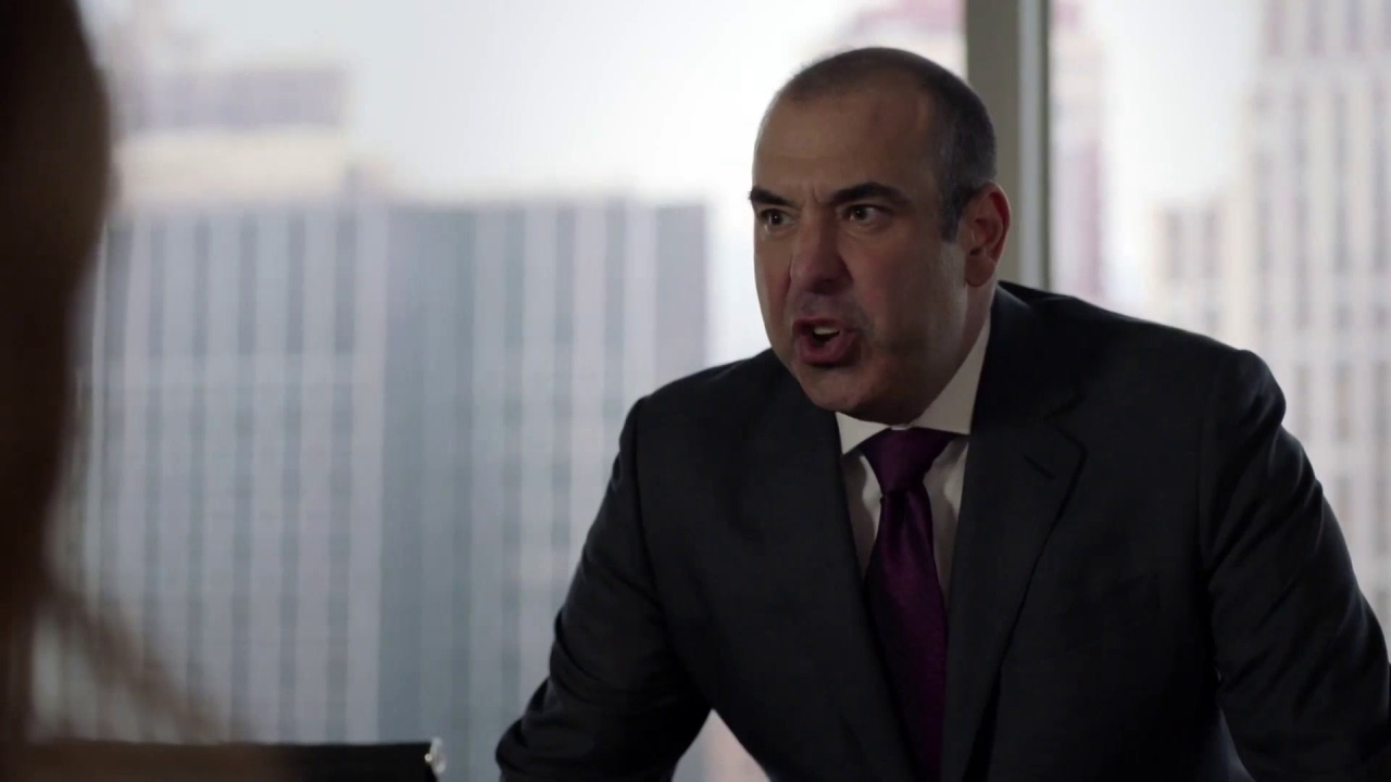 Suits: Louis Litt Explodes At Susan's Parents