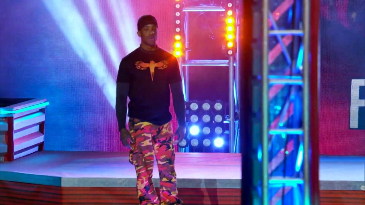 American Ninja Warrior: Najee Richardson's Solid Run