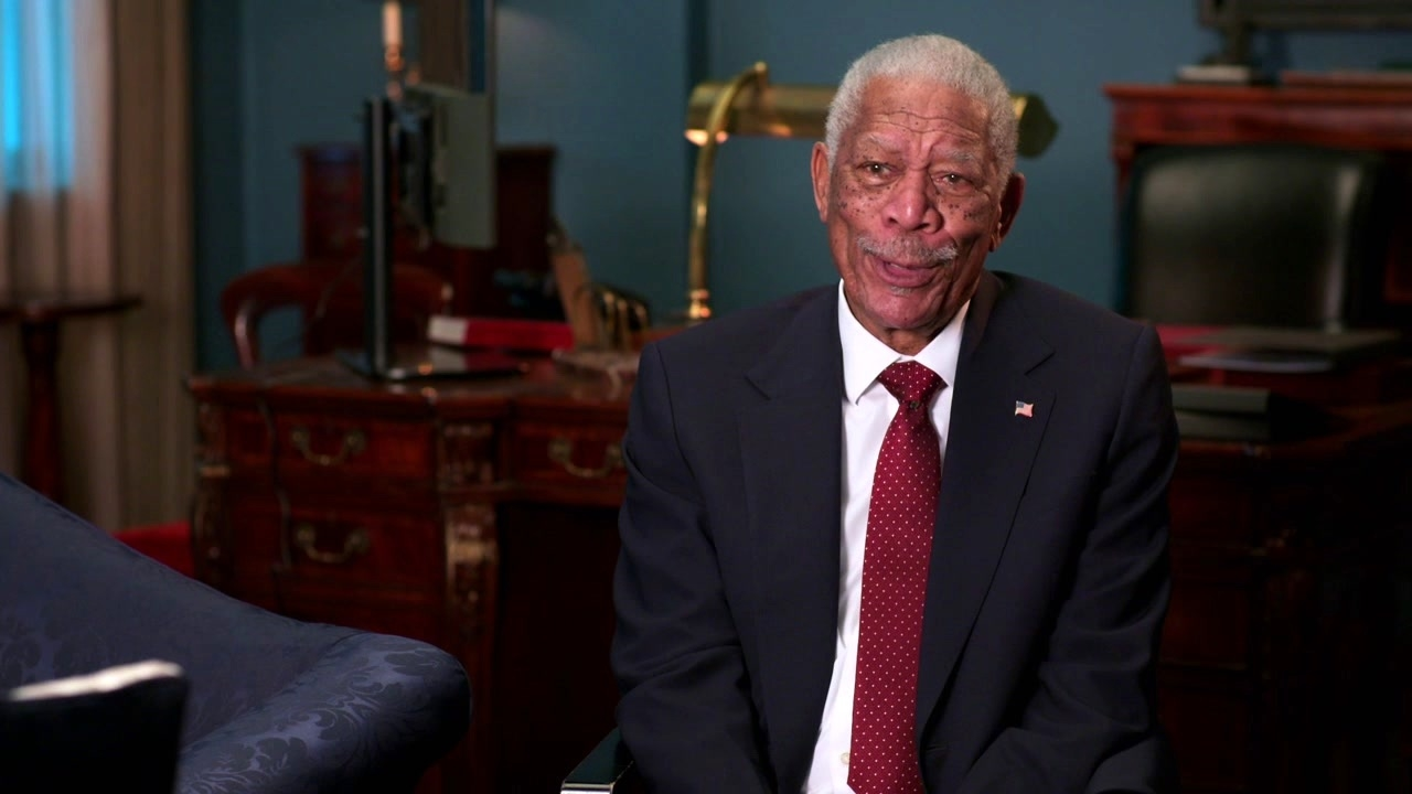 Angel Has Fallen: Morgan Freeman On Gerard Butler